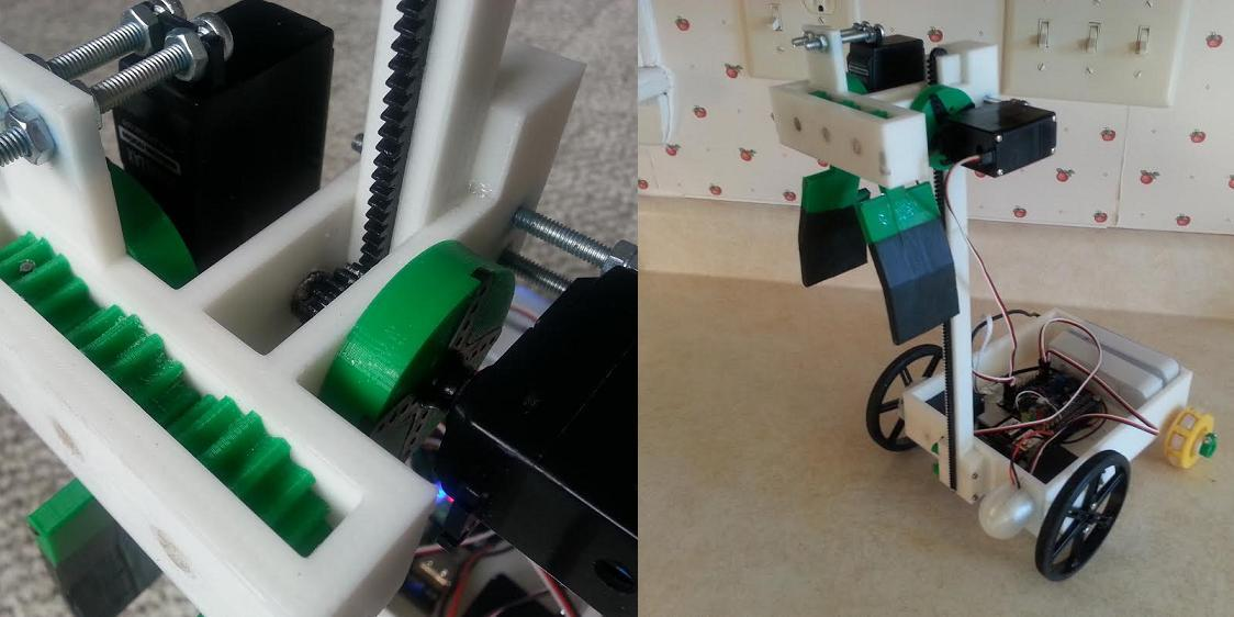 15-Year-Old 3D Prints Incredible Robot Capable of Picking Up and Moving Objects on Demand