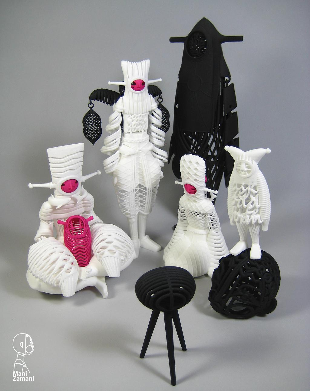 Mani Zamani S 3d Printed Collectors Grade Toys Completely