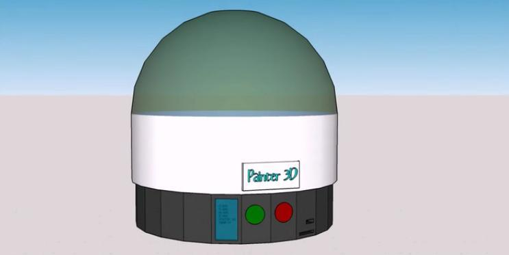 The 'Painter 3D Printer' Launches on Kickstarter to Automatically Paint 3D Printed Objects