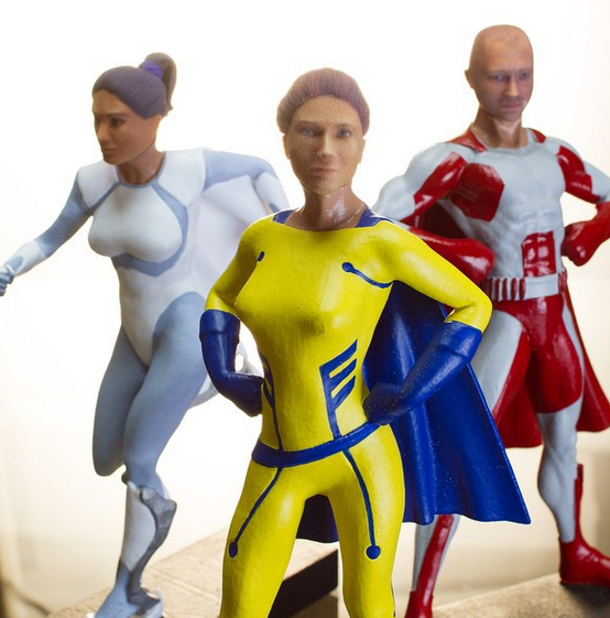 3D Printed Action Figure Company, You Kick Ass, Funded By