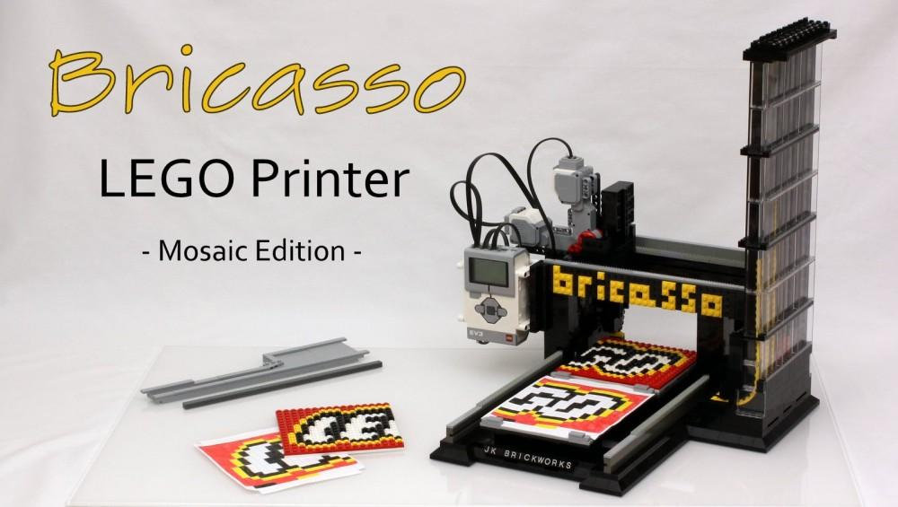 This Bricasso LEGO Printer Will Change Everything