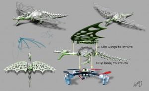 3dp_wasp_dragon_design