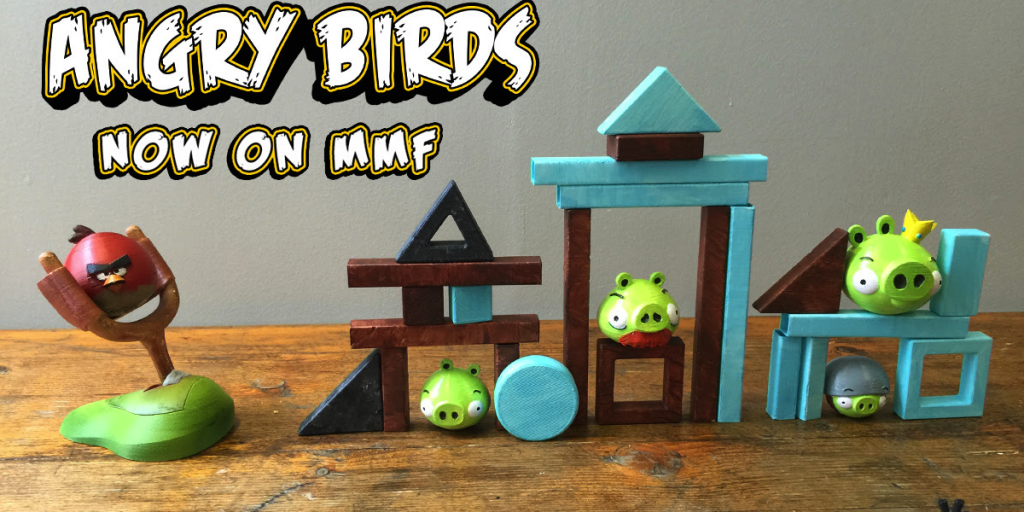 Tabletop Angry Birds Who Needs A Smartphone When You Can