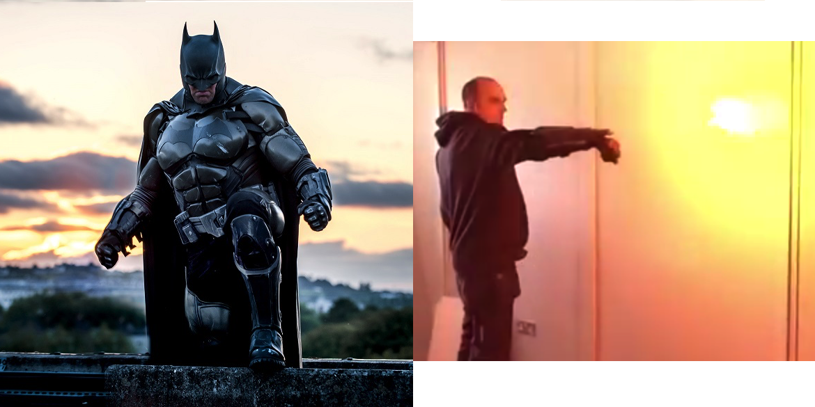 Incredible 3D Printed Batman: Arkham Origins Suit Will Blow You Away, Quite Literally