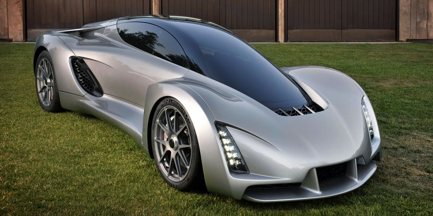 World's First 3D Printed Supercar is Unveiled – 0-60 in 2.2 Seconds, 700 HP Motor – Built from Unique Node System
