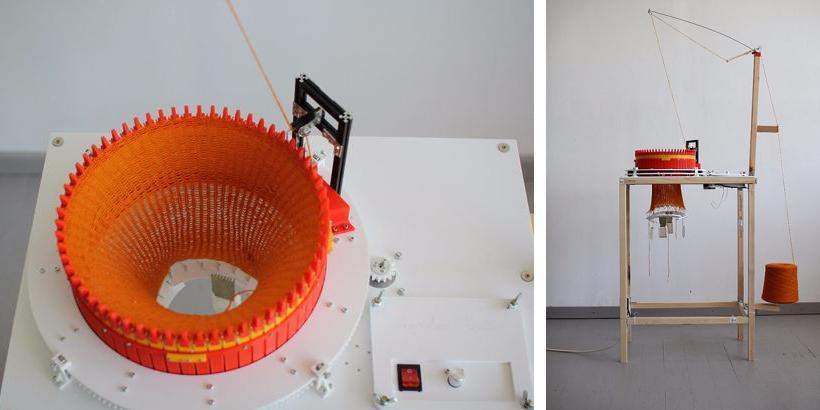 Makers Create a 3D Printed Circular Knitting Machine 3DPrint.com The Voic...