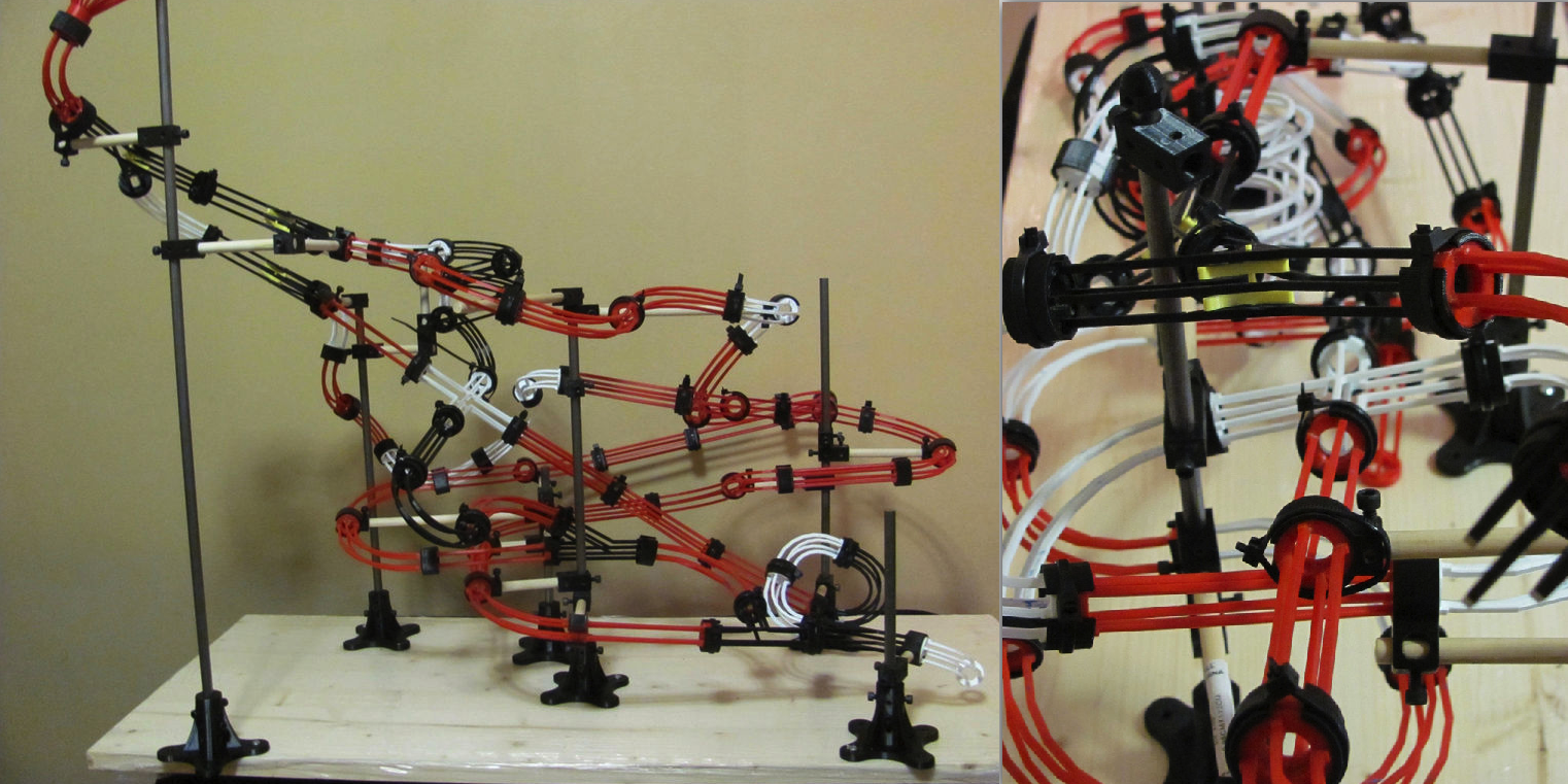 14-Year-Old's 3D Printed Marble Machine Does Rube Goldberg Proud