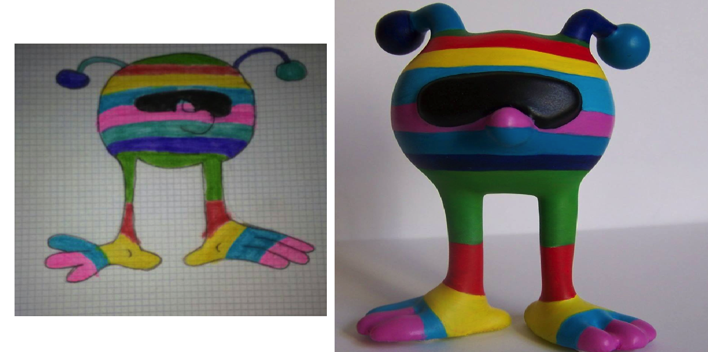 MOYUPI Hits Kickstarter-- Turn Your Child's Drawings Into Safe 3D Printed Toys