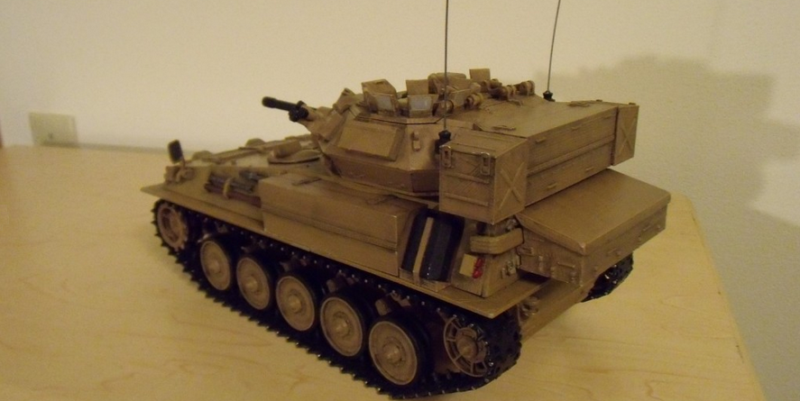 Remote Control Scorpion FV101 Tank is First in a Squadron of 3D-Printed, Scale Model Armored Vehicles