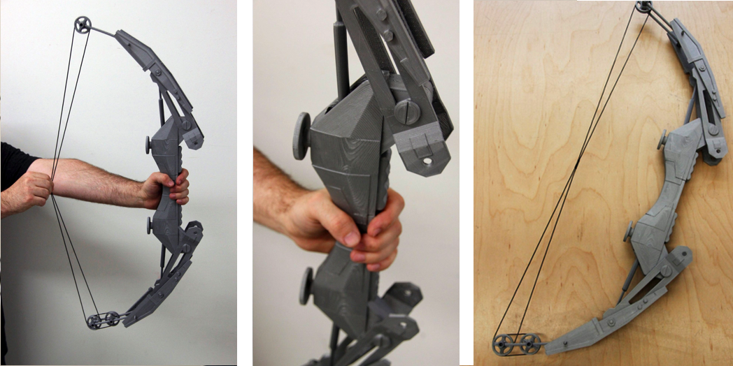 Hero Complex Props 3D Prints an Amazing Compound Bow from the 'Thief' Video Game Series