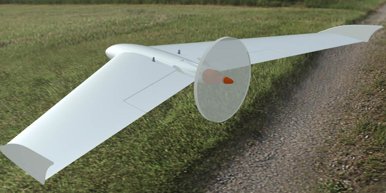 This Amazing 3D Printed Winged UAV Suffers Devastating Crash