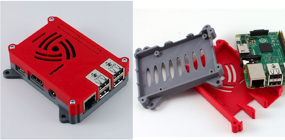3D Print This Case For Your Raspberry Pi 2