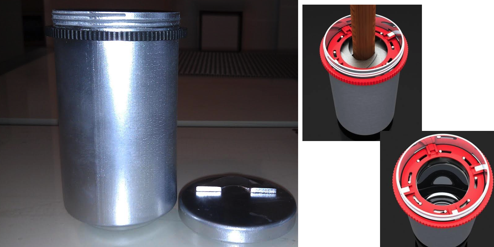 A Solution At Last! A 3D Printed Ashtray That Extinguishes and Preserves Your Unfinished Cigar