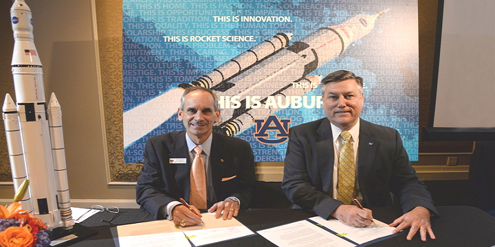 Auburn University and NASA Sign Space Act Agreement for AM Research