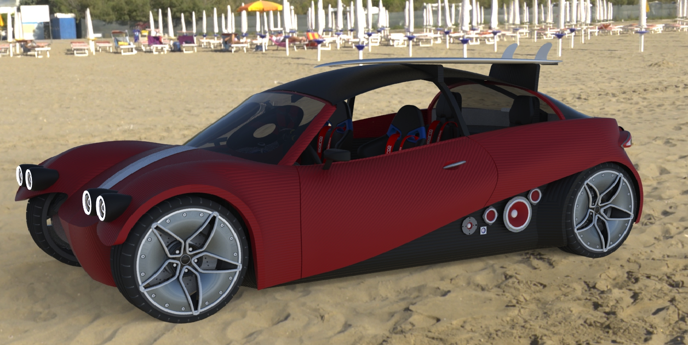 World's First Road-Ready Line of 3D Printed Cars Unveiled Today by Local Motors