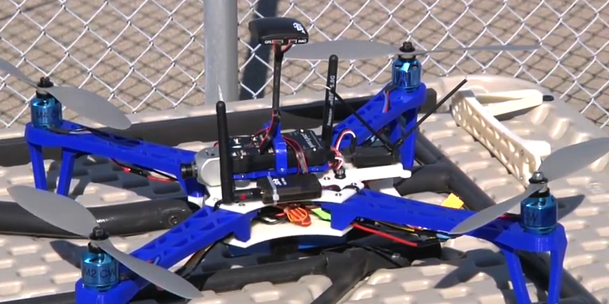 US Navy is 3D Printing Custom Drones Onboard the USS Essex