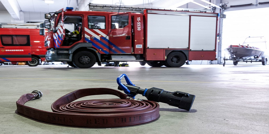 Netherlands: Firefighters to Train with XVR's 3D Printed Water Nozzles, Fight Virtual Reality Fire