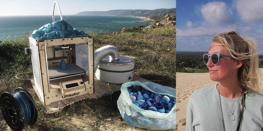 ProjectSeafood: The Traveling 3D Printing & Recycling Lab Looks to Conquer Ocean Waste Within a Mini-van