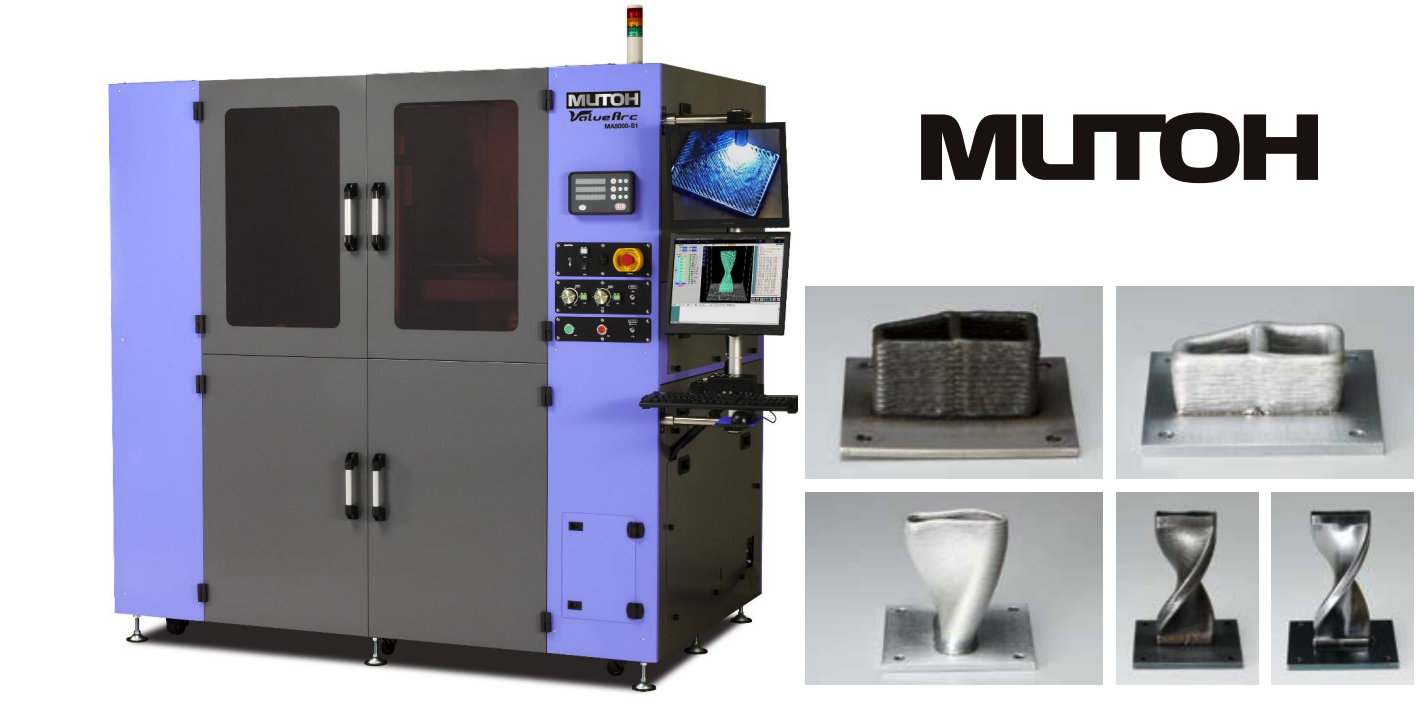 Mutoh Industries Unveils New Metal Arc Welding 3D Printer, the Value Arc MA5000-S1