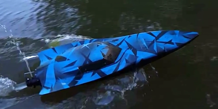 3D Printed Water Jet Boat Moves at Jet Speed with Perfect Maneuvers