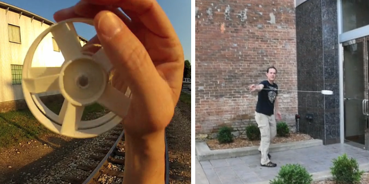 Part Yo-Yo, Part Drone, This 3D Printed Toy Is Very Impressive