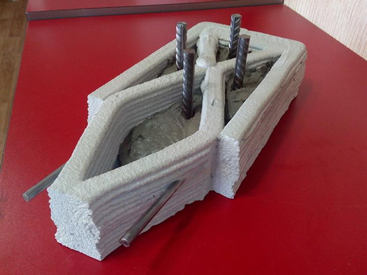 D Printing Exhibition Billingsgate : Russia s spetsavia to show off d printed home building
