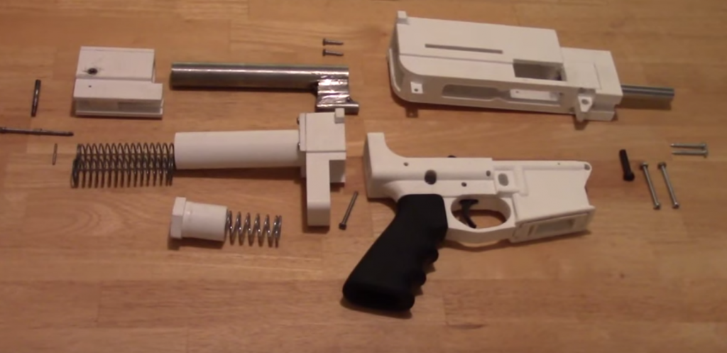 The Shuty Hybrid 3d Printed 9mm Pistol Raises Questions
