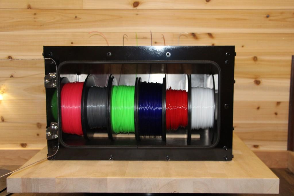 Odin Manufacturing Launches 3d Printer Filament Storage