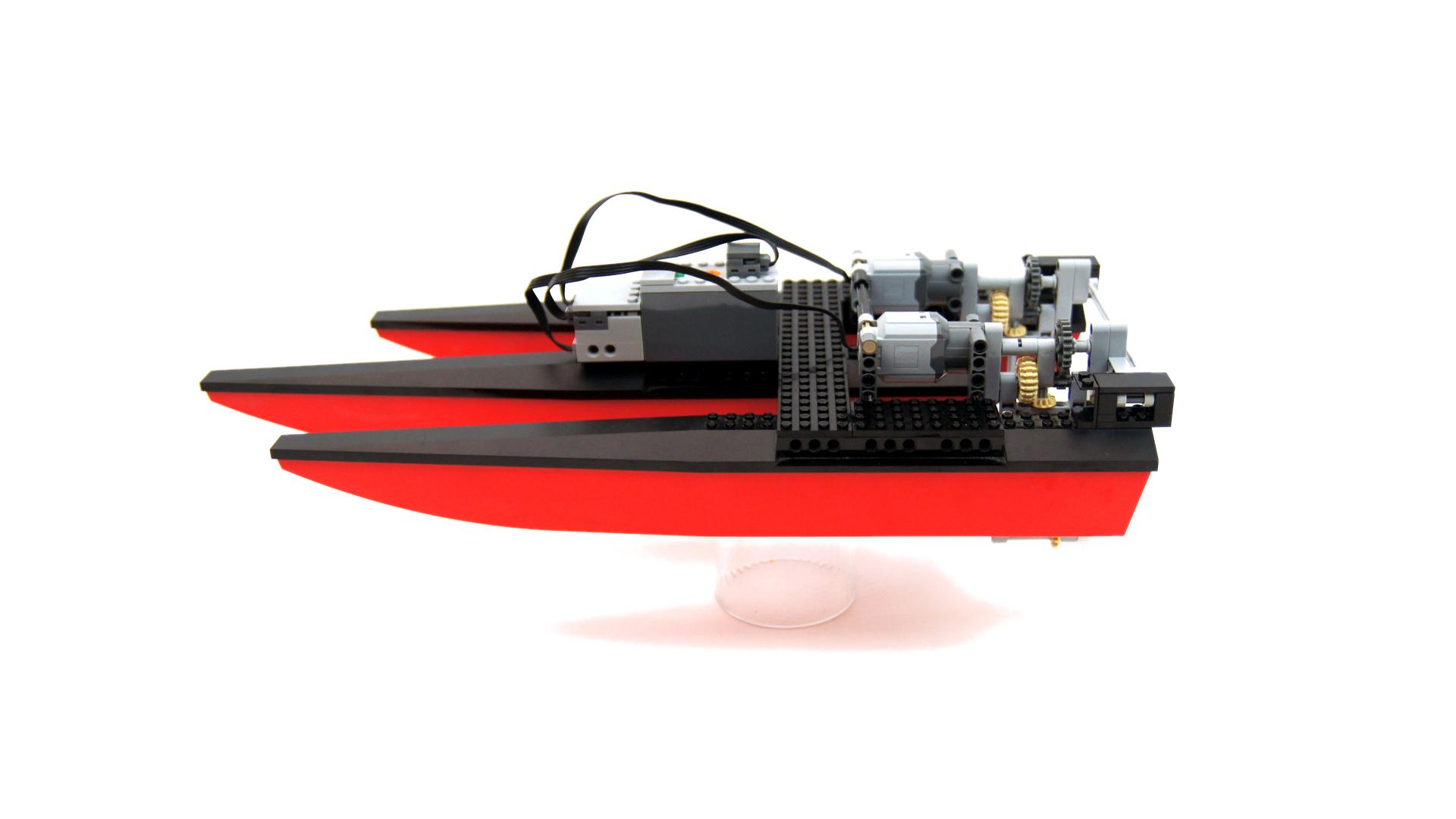 LEGO Expert Builds Incredible RC Boat with 3D Printed Propellers