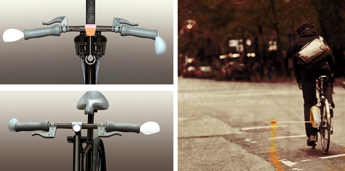 These New 3D Printed Tools Allow for Harmony Between Cyclists & Motorists