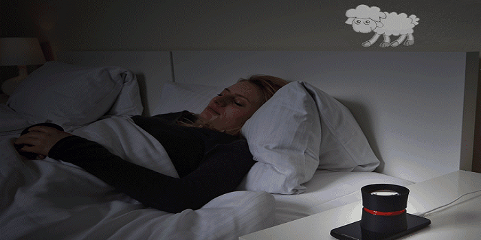 3D Printed DreamMe Displays Smartphone Info on Your Bedroom Ceiling at Night