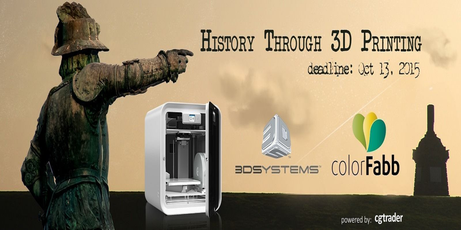 'History Through 3D Printing Challenge' Contest from CGTrader Focuses on Presidents & Architectural Styles
