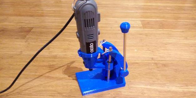 3D Printed PCB Drill Press Allows Those on a Budget to Make Tools