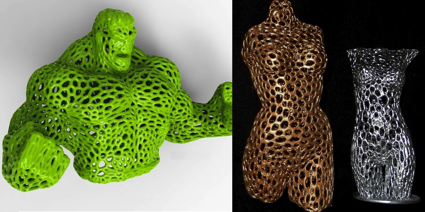 3d Zakaz Unleashes A Slew Of 3d Printable Voronoi Style