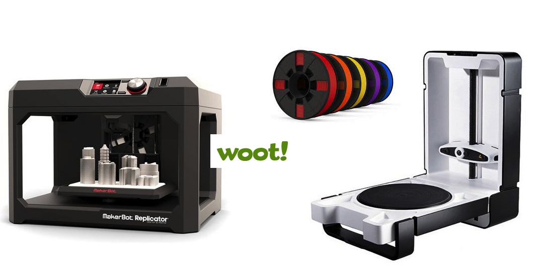 Woot! Get A MakerBot 3D Printer, Matter & Form 3D Scanner & More ...