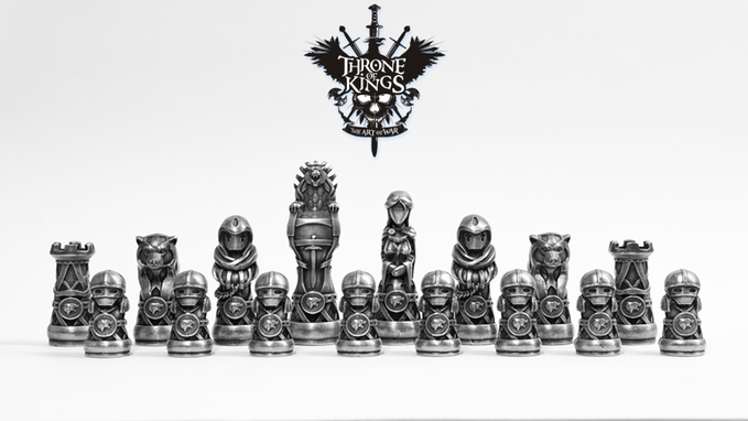 projects ideas metal chess pieces. 3D Printed Molds for Pieces in Throne of Kings Chess Set  3DPrint com The Voice Printing Additive Manufacturing