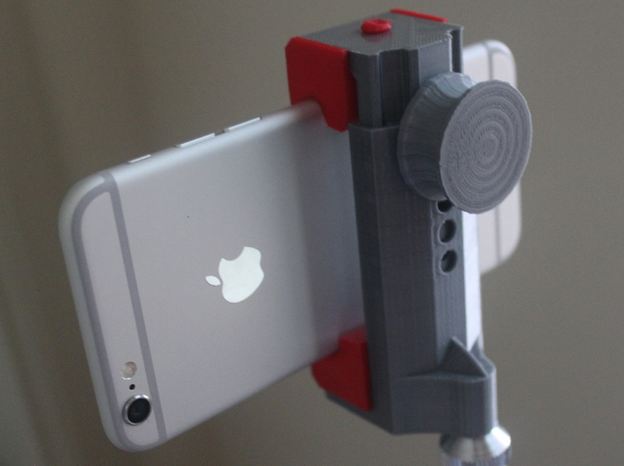 3D Metal Printing >> Turn Any Phone into a Movie Camera with the 3D Printable Universal Smartphone Tripod Mount ...