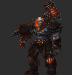 Blackhand the Destroyer from World of Warcraft.