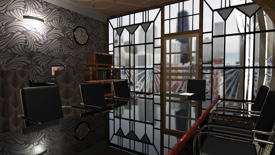 College Student Uses 3d Design To Create Stylish Art Deco