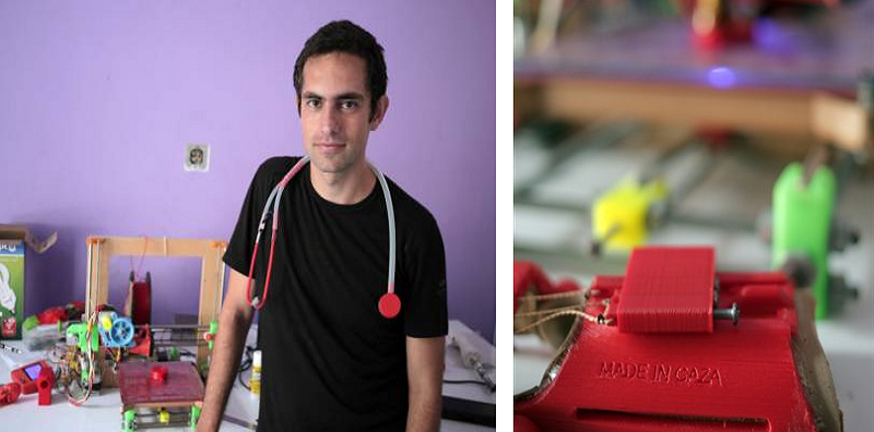 Made in Gaza: Glia Project Offers Open Source, Low-Cost, Locally 3D Printed Medical Supplies