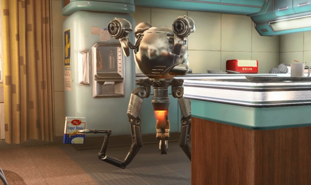 Making Fallout 4's Robot Butler Mister Handy Real Using 3D Printing