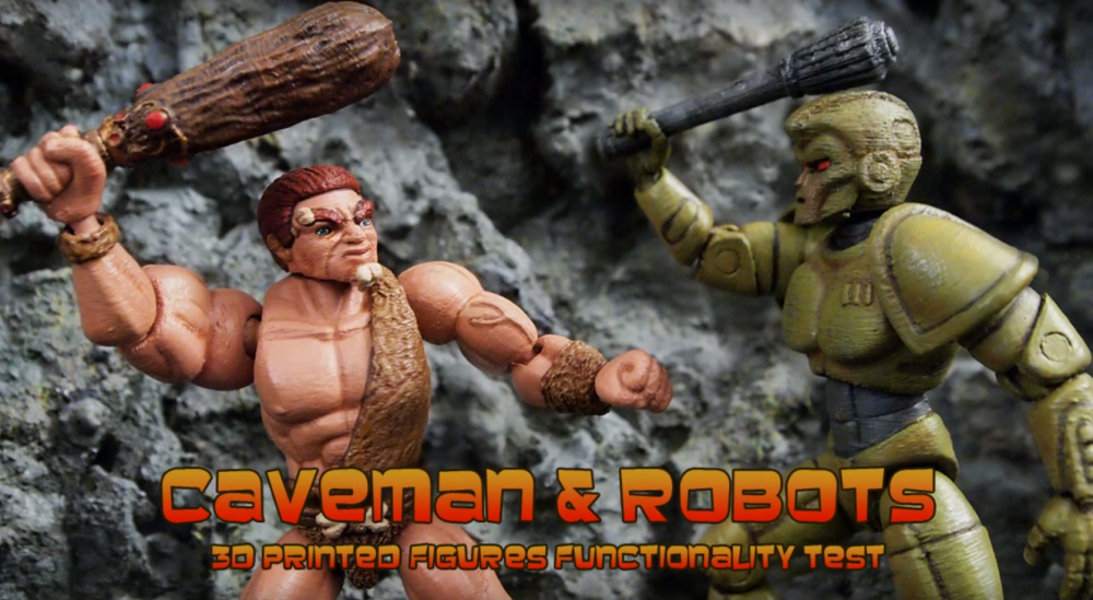 Watch 3D Printed Actions Figures Battle in This Awesome Stop Motion Video