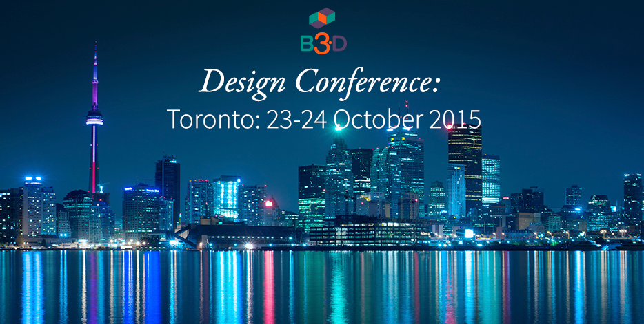 Toronto: Think2Thing Atelier & Ryerson University Host Toronto's First 3D Printing Conference
