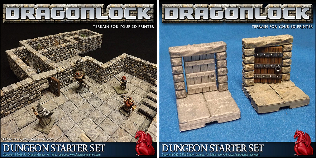 3d Printed Gaming Terrain Dragonlock Is Expansive But Not