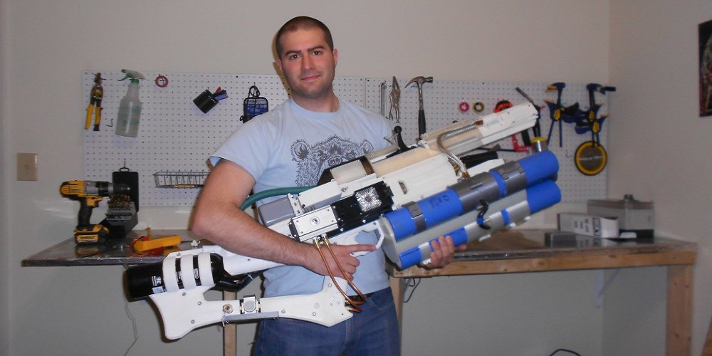 The 3D Printed Arms Race Just Got Real with This Working Handheld Railgun