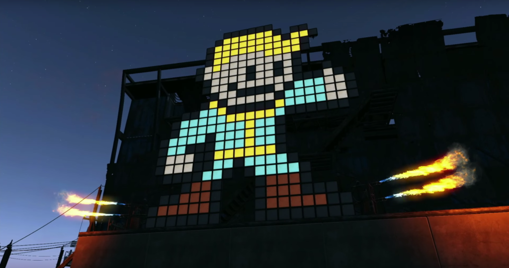 Actual in-game build from Fallout 4.