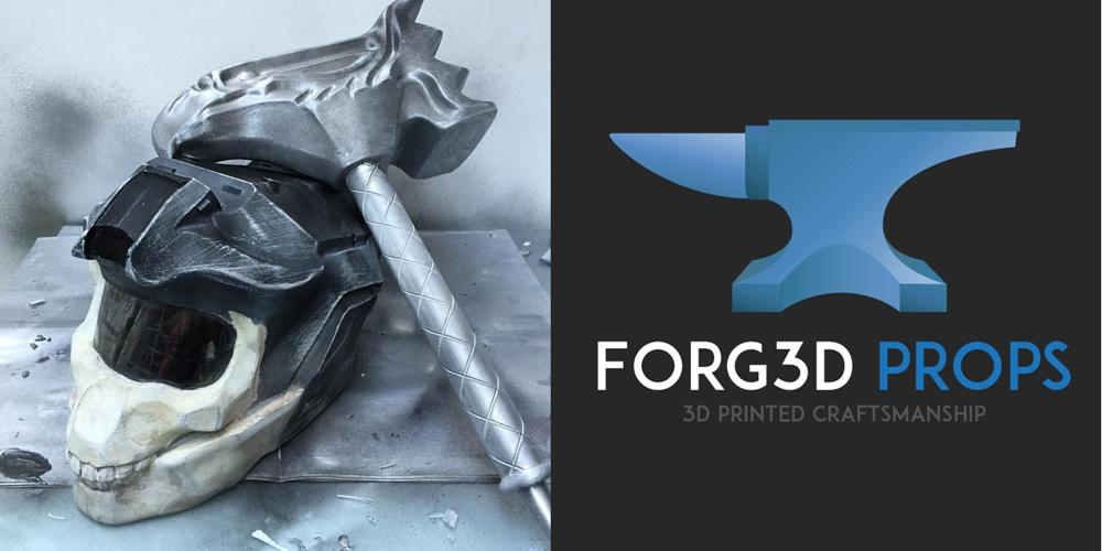 Cosplay for Everyone Thanks to the 3D Design and 3D Printing Services of Forg3d Props