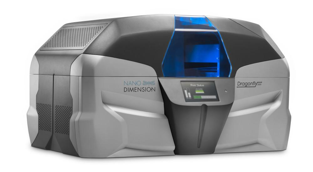 Nano Dimension Unveils the DragonFly 2020, World's First Desktop Electronic 3D Printer