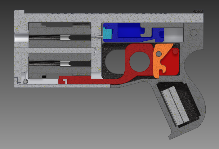 The Worlds First Fully 3D Printed Revolver Is Here -4879