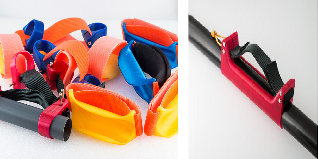 Kayaking Enthusiast Creates 3D Printed Assistive Paddle Grips for People with Disabilities